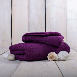 Ručník froté purpur 50x100 cm Unica