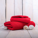 Ručník froté červený 50x100 cm Unica