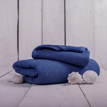 Ručník froté tmavě modrý 50x100 cm Unica