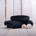 Ručník froté černý  50x100 cm Unica