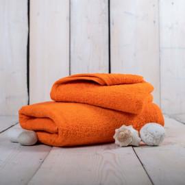 Ručník froté oranžový 50x100 cm Unica