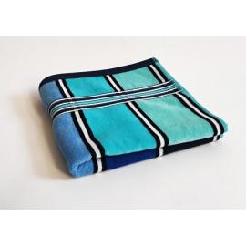 Ručník froté modrý 50x100 cm Rainbow