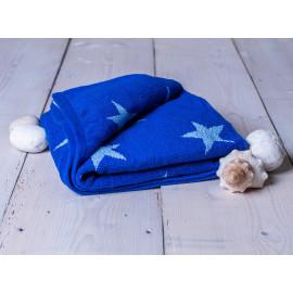 Ručník froté modrý 50x100 cm Stars