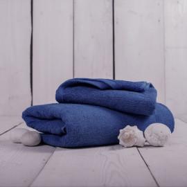 Osuška froté tmavě modrá 70x140 cm Unica
