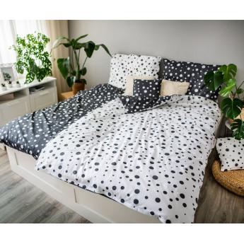 3 dílné povlečení bavlna Double dots