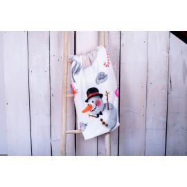 Deka Snowman 150 x 200 cm