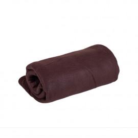 Fleecová deka hnědá 150 x 200 cm