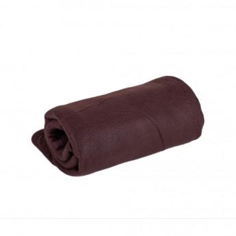 Fleecová deka hněda 150 x 200 cm