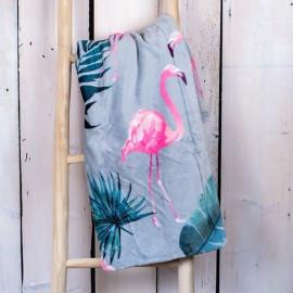 Deka Flamingo 200 x 220 cm dvoulůžko