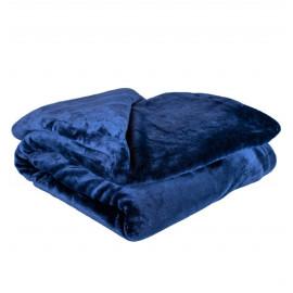 Deka tmavě modrá 150 x 200 cm