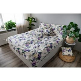 3 dílné povlečení bavlna Violeta