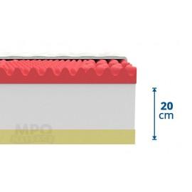 Ortopedická  matrace Memory Comfort 1+1