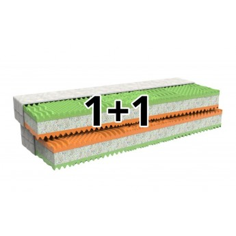 matrace MPO Regina 1+1 tvrdá H4