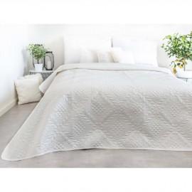 Luxusní přehoz na postel, bílý, 220x240 cm