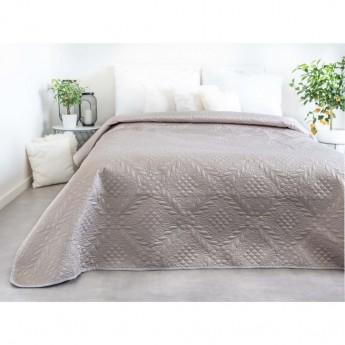 Přehoz na postel, běžový, 220x240 cm