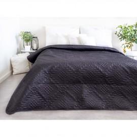 Luxusní přehoz na postel, šedý, 220x240 cm