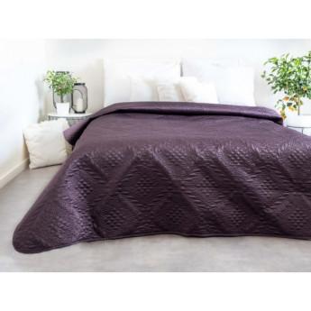 Přehoz na postel, fialový, 220x240 cm
