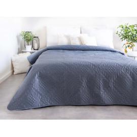 Přehoz na postel, světlo šedý, 220x240 cm