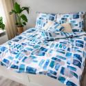 3 dílné povlečení bavlna Abstract Blue